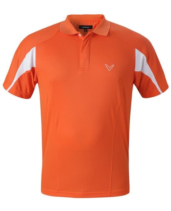 撞色高尔夫运动服