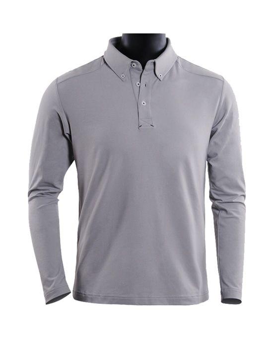 纯色休闲高尔夫T恤