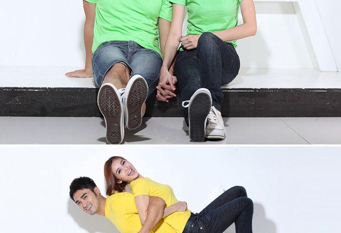纯色广告衫