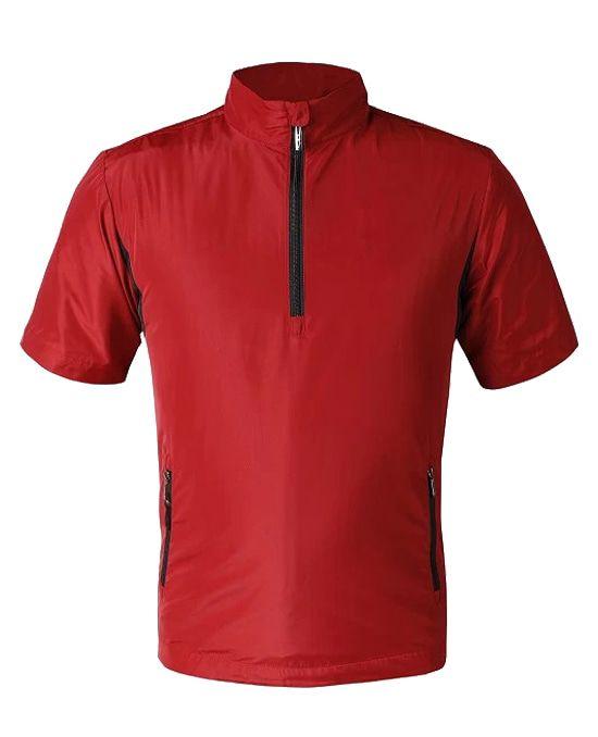 高尔夫短袖风衣