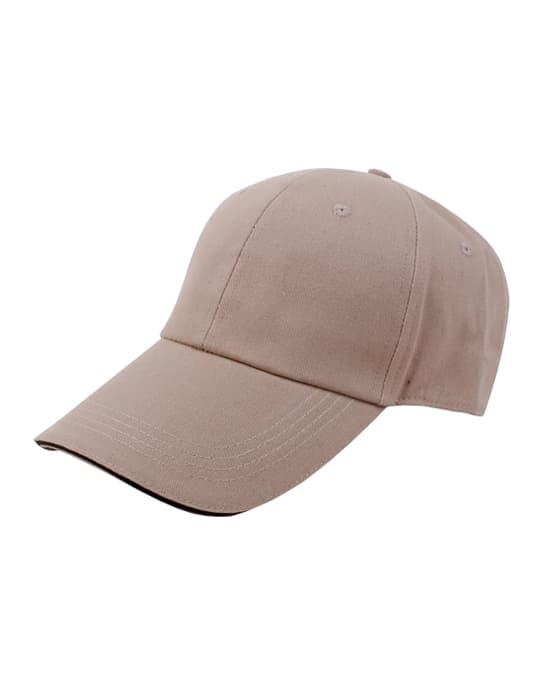 纯色广告帽