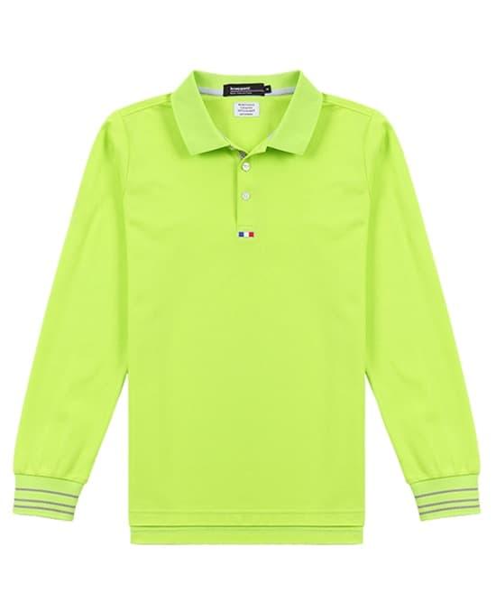 高尔夫高档撞色T恤