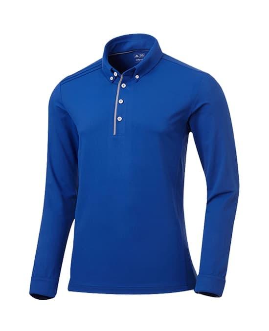 平纹 高尔夫长袖T恤